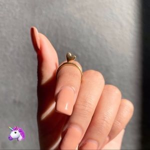 NEW Gold Heart Midi Ring - 4 for $20!